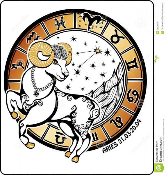 """""""Le travailleur en louange"""", nommé Ku par les Grecs, est le premier signe de Feu (21 mars-20 avril). On l'appelle..."""