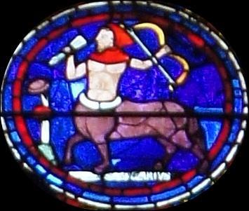 Pal-Bih-Sag, troisième signe de Feu (23 novembre-20 décembre) est représenté par un centaure tenant un arc. C'est...