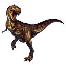 Est-ce un tyrannosaurus ?