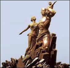 Complétez cette phrase. « Voici le monument de la renaissance africaine de …. inauguré lors du cinquantenaire de l'indépendance du Sénégal en 2010.