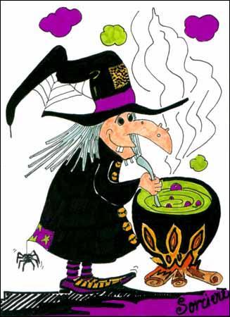 Forme populaire de magie noire :