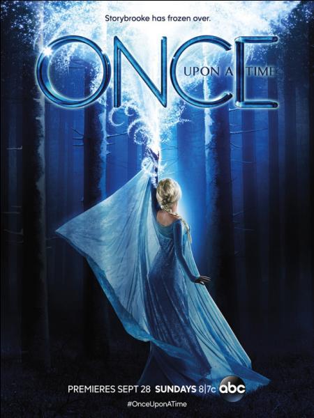 Once upon a time : Quel est le nom de l'actrice qui joue Elsa ?