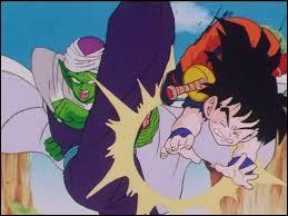 Pendant combien de temps Piccolo laisse-t-il Son Gohan s'entraîner tout seul dans les montagnes avant l'arrivée des saiyans ?