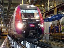 Les automotrices SNCF