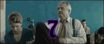 7 - Quel est le sexe de l'élève recouvert par un manteau par Maurice ? Maurice lui dit : « Qui porte manteau est porte-manteau ».