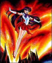 """Dans le manga """"Sailor Moon"""", quelle guerrière Sailor possède le pouvoir du feu ?"""