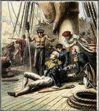 Lors de quelle bataille navale, le vice-amiral anglais Horacio Nelson (1758-1805) trouve-t-il la mort, touché par une balle ? (Cette dernière lui traversa l'épaule gauche, son poumon et sa colonne vertébrale).