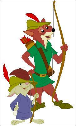 Je suis vêtu d'un costume et d'un chapeau verts et j'ai un arc. Je suis...
