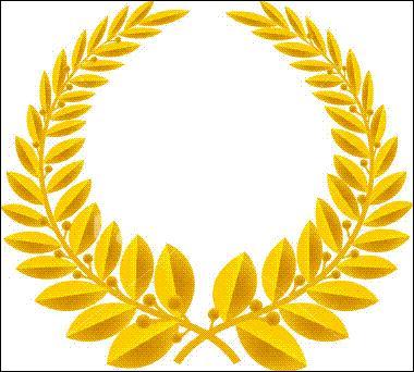 A quel personnage historique vous renvoie cette couronne de lauriers ? Indice : 'post mortem'