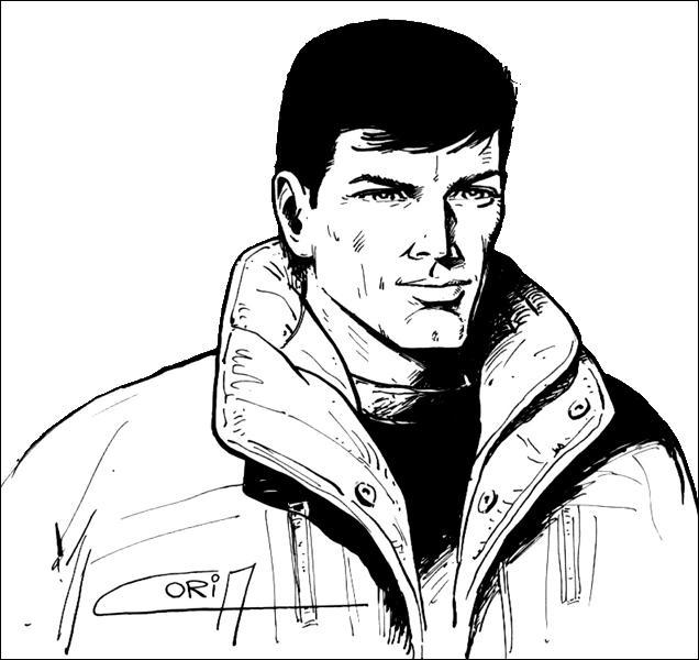 Quel héros de fiction pouvez-vous voir dans cette BD : Les Sortilèges de l'Ombre Jaune ?