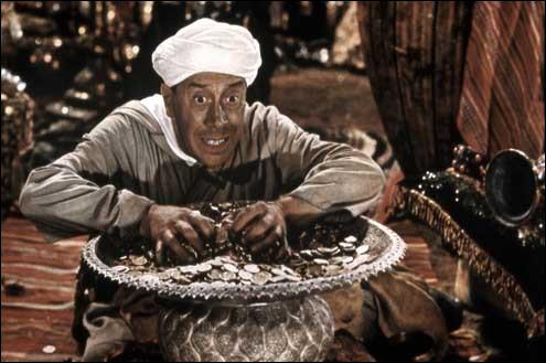 """Quelle formule magique pouvez-vous entendre dans le film """"Ali-Baba et les Quarante Voleurs"""" ?"""