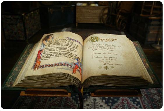 """Dans la série """"Charmed"""", les trois soeurs Halliwell possèdent un livre contenant des formules magiques permettant de lancer de puissants sortilèges, comment s'appelle t-il ?"""