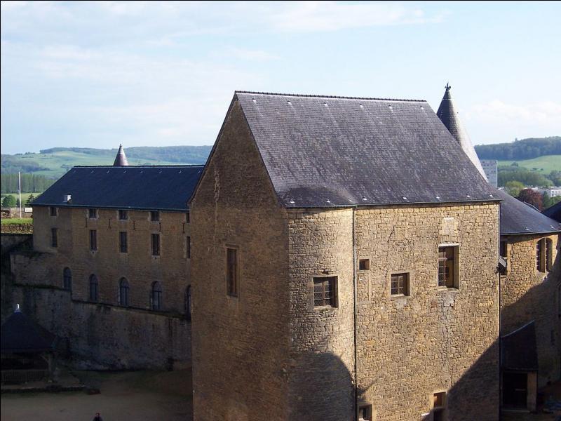 Le château-haut, situé sur un promontoire en bordure de Meuse, est le château fort le plus étendu d'Europe. Quelle est la ville natale de Yannick Noah ?