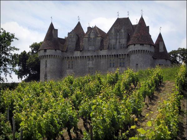 12 600 hectares de vignoble pour treize appellations AOC dont le monbazillac ! C'est le vignoble de ... en Dordogne.