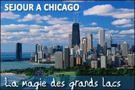 Dans quel état se situe la ville de Chicago ?