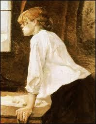 Qui a peint ce tableau intitulé  La Blanchisseuse  ?