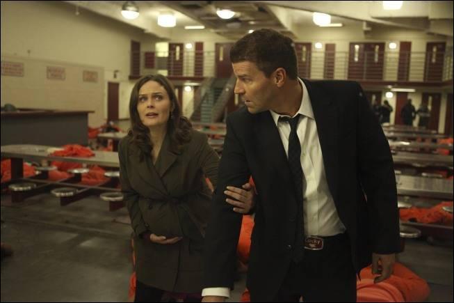 Dans quelle saison Brennan accouche-t-elle de son premier enfant ?