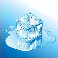 La glace désigne l'état solide de l'eau. C'est aussi un nom utilisé pour désigner...