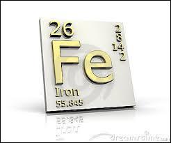 Le fer est un élément chimique. C'est aussi en escrime le nom...