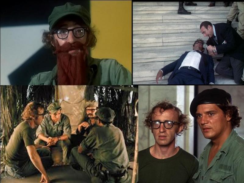 Ce film est une comédie américaine. Il a été réalisé par Woody Allen.Woody Allen, Louise Lasser, Carlos Montalbán… font partie de la distribution. Suite à une rupture avec une jeune femme, militante de gauche, un jeune homme part pour un pays sud-américain en pleine révolution. Il en deviendra le président…Quel est ce film ?