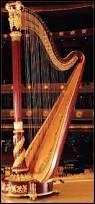 Combien de cordes trouve-t-on sur une harpe ?
