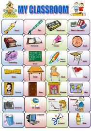 Vocabulaire anglais : Classroom english