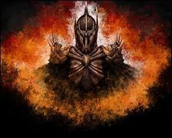 """Nous allons basculer dans de la littérature """"pour jeunes"""", avec """"Le Seigneur des anneaux"""". Sauron est une très puissante divinité dans le monde. Il bascula du côté obscur de la force à cause de Morgoth. Par qui sera-t-il battu ?"""