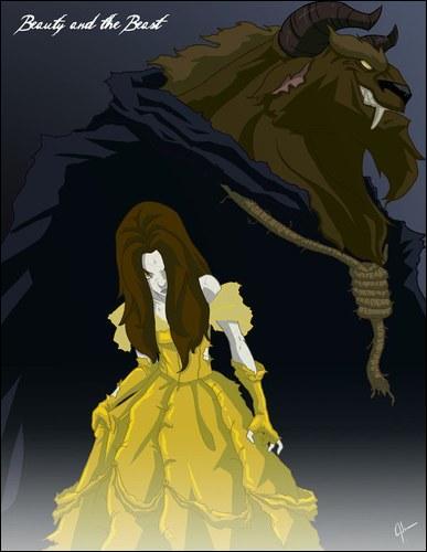 De quel dessin provient cette horrifique princesse ?