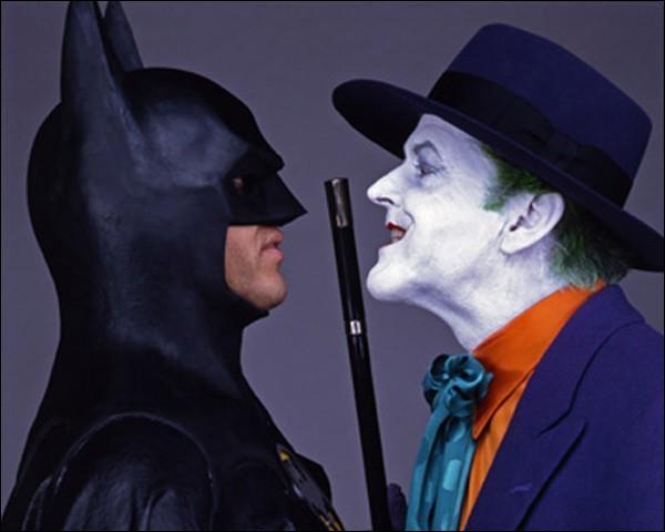 """Dans quel film de Tim Burton sorti en 1989, Jack Nicholson tient-il le rôle du """"Joker"""" ?"""
