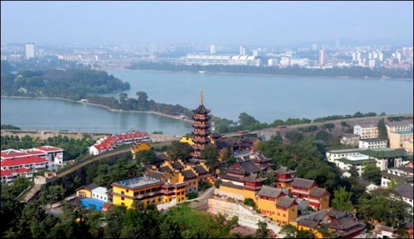 Dans quel pays devrez-vous vous rendre pour visiter la ville de Nankin ?