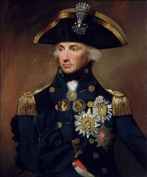 Lors de quelle bataille Horatio Nelson s'est-il illustré, avant d'y trouver la mort ?