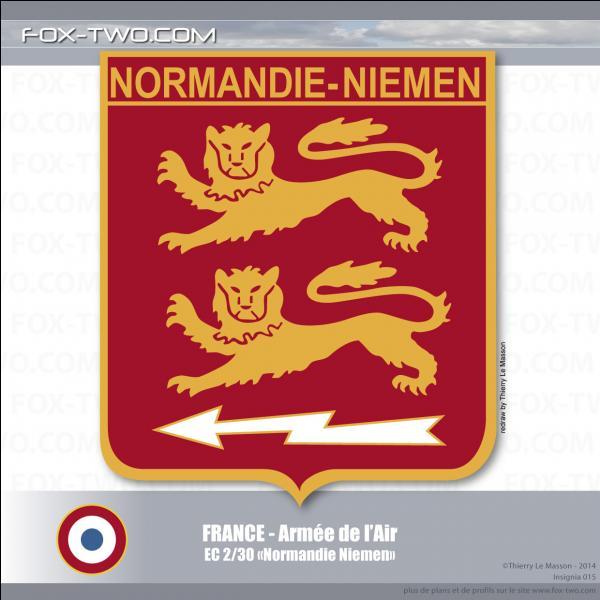 """Pendant la Seconde Guerre mondiale un régiment de chasse aérienne fut constitué et appelé Normandie-Niémen. Que désignait le mot """"Niémen"""" ?"""