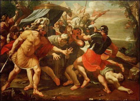 Quel sénateur aura la tête et les mains coupées, par les sicaires de Marc Antoine ?