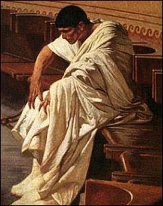 Qui est ce conspirateur romain ? Noble déclassé, il avait toutes les qualités et vices d'un chef de bande, vers 62 avant J.-C., il fut rayé par le Sénat.