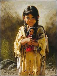 Comment étaient surnommés les Indiens d'Amérique ?