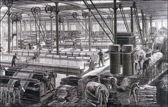 revolution industrielle angleterre