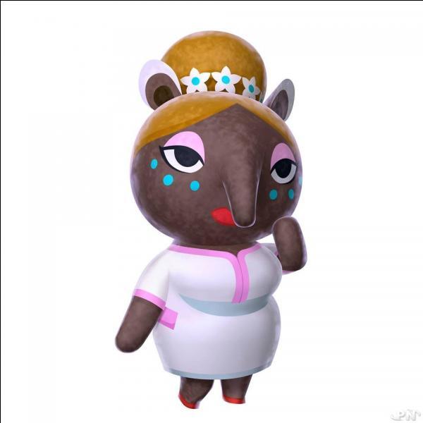 """Dans """"Animal Crossing : New Leaf"""", elle nous fait rêver de belles villes au spa. Quel est son nom poétique ?"""