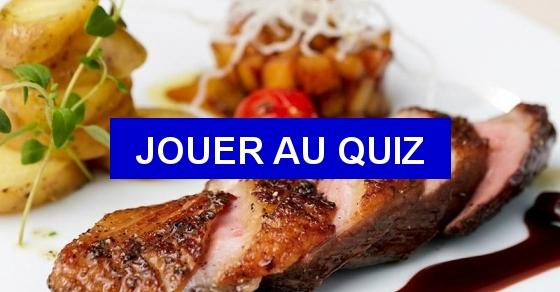 Quizz la gastronomie fran aise quiz gastronomie cuisine for Apprendre la cuisine francaise