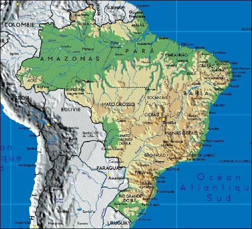 Lequel de ces pays se trouve en Amérique du Sud ?
