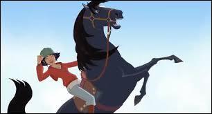 Quel est le nom de ce cheval qui apparaît dans le dessin animé : Le Ranch ?