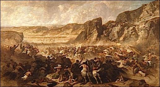 En 400, revenant d'une expédition en Mésopotamie sous le commandement de Xénophon, une armée de mercenaires grecs, les Dix-Mille, connut mille et une épreuves dans les régions plus qu'hostiles de l'Est de l'Anatolie avant de pouvoir atteindre la côte de la mer Noire (Pont-Euxin). Un jour, une clameur s'élève parmi les 12 800 soldats éreintés !