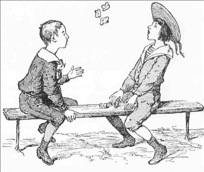 L'astragale est un os du pied, quasiment cubique. Ces petits os, extraits des restes de chèvres ou de moutons ont servi dès l'Antiquité de dés ou de pions pour toutes sortes de jeux. Je vous laisse deviner par l'image.