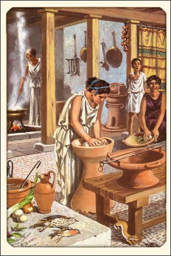 Pour ce qui est de l'instruction des filles, il était tout simplement inconcevable, dans la société athénienne du Ve siècle, que les petites filles reçoivent une éducation extérieure, à l'instar des jeunes garçons. Que considérait-on même comme une vertu inhérente à la personne de la femme ?