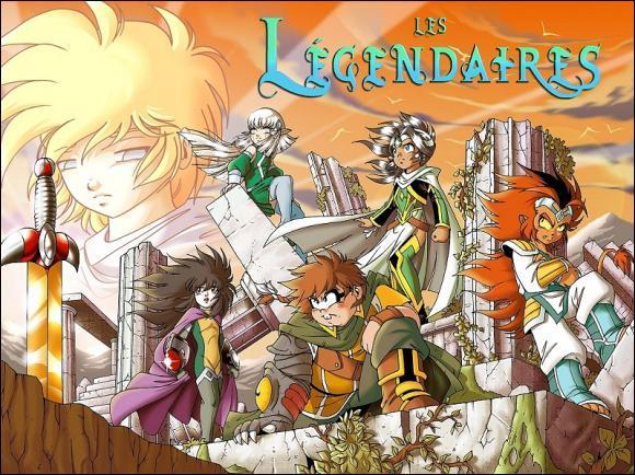 """Qui est l'auteur de la série de bandes dessinées """"Les Légendaires"""" ?"""