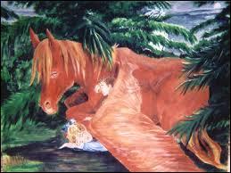 """Quel est le nom du cheval qui a joué dans """"Le Neveu du magicien"""" ?"""