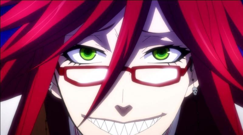 Black Butler - Je suis un shinigami épris du démon majordome Sebastian Michaelis. Je suis :
