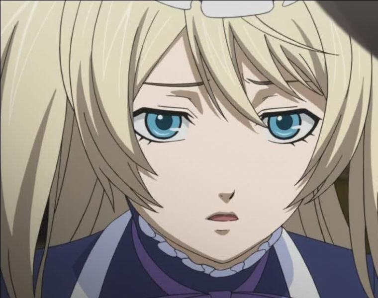Black Butler - Je suis un jeune noble ayant à mes ordres un démon nommé Claude Faustus. Je me nomme :