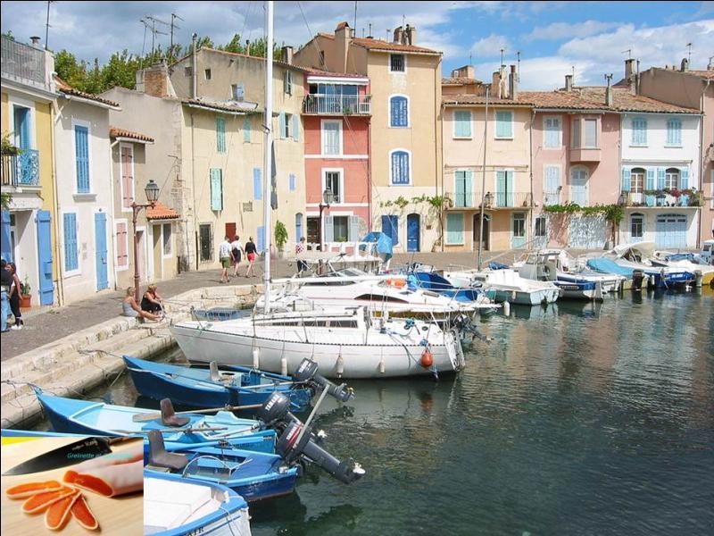 """Dégustez la poutargue ou """"caviar martégal"""" dans cette """"Venise provençale"""" située dans les Bouches-du Rhône. Dans quelle ville ont été tournés de nombreux films (La cuisine au beurre) ou séries télévisées (Camping Paradis) ?"""