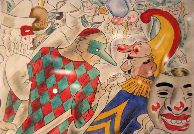 Quel est ce haut personnage français qui, avant de devenir préfet de l'Aveyron en 1937 et de l'Eure-et-Loir, publiait des caricatures et des dessins humoristiques sous le pseudonyme de Romanin ?