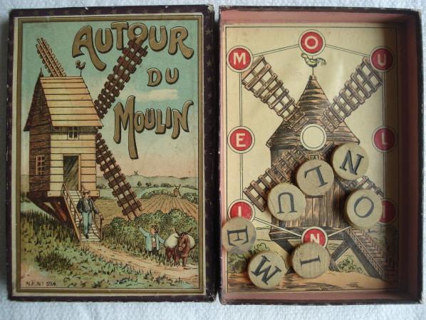 Autour du mot moulin